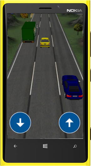 Traffic Race 3D - Windows Phone