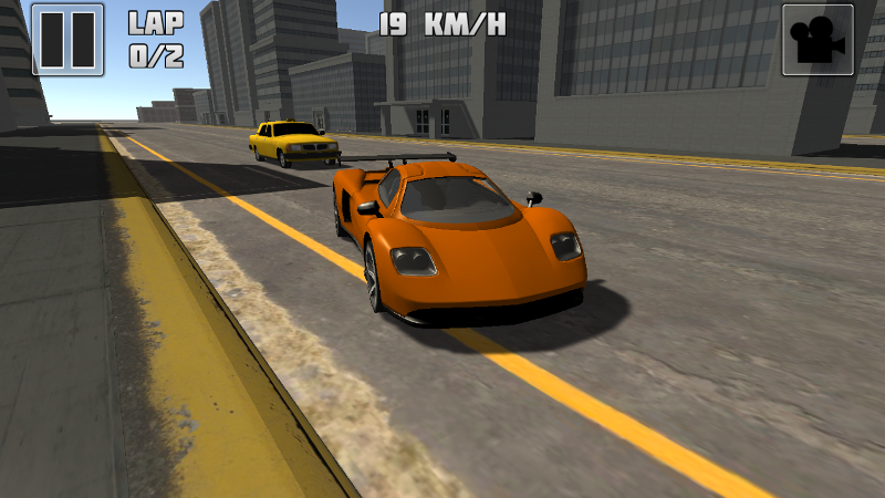 Traffic Race 3D 2 city cruise